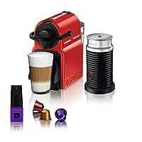 Nespresso C45 Inissia Bundle Kapsüllü Kahve Makinesi, Kırmızı