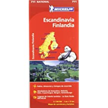Mapa National Escandinavia Finlandia (Mapas National Michelin)