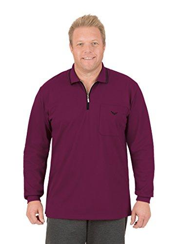 Trigema Herren Poloshirt 627655 Rot (Sangria 089)