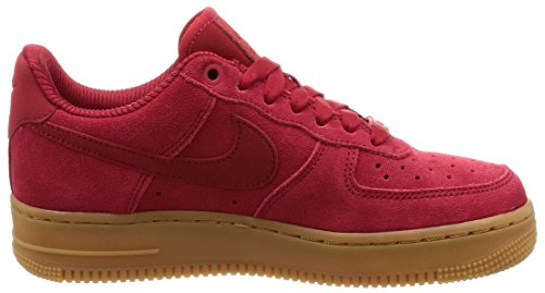 de Wmns 1 Chaussures E 07 Nike D Se E D P Air E S 601 Re S Gymnastique D E Redgum Light P Force Femme Rouge qF0qxw