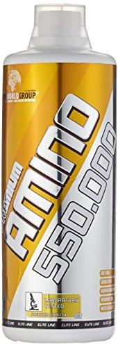 BWG Premium Amino 550.000, Amino Liquid mit Vitamin B6 optimiert, Red Berry, Elite Line, 1er Pack (1 x 1000ml Flasche) -
