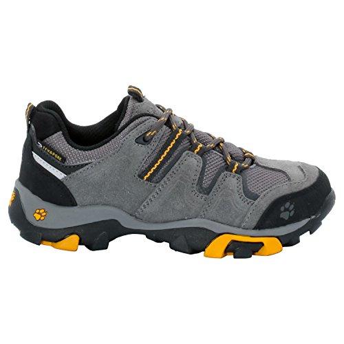 Jack Wolfskin Boys Mtn Attack Low Texapore, Chaussures de randonnée garçon
