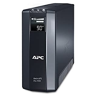 APC Power-Saving Back-UPS PRO - BR900GI - Uninterruptible Power Supply 900VA (AVR, 8 Outlets IEC-C13, USB, Shutdown Software)