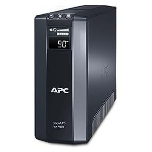 APC Back UPS PRO USV  900 VA - BR900GI - Stromsparfunktion, Multifunktionsdisplay, inkl. 150.000 Euro Geräteschutzversicherung)