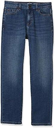 Amazon Essentials Boys' Slim-Fit Jeans, Everest Medium Wash, 5