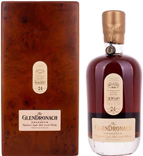 Glendronach GRANDEUR 24 Years Old Batch No. 9 mit Geschenkverpackung (1 x 0.7 l)