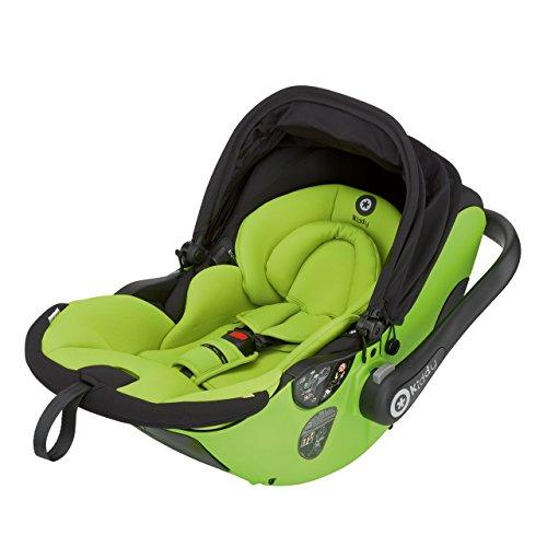 Preisvergleich Produktbild Kiddy 41930EL092 Evolunafix Babyschale mit patentierter Liegefunktion, Isofix-fähig, inklusive Isofix Base 2, Gruppe 0+ (Geburt-13 kg, Geburt-ca. 15 Monate),  Apple (hellgrün)