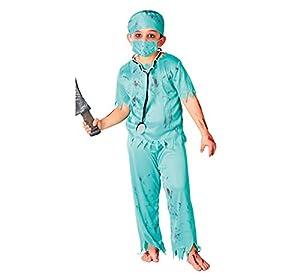 Guirca 82610 - Cirujano Zombie Infantil Talla 5-6 Años