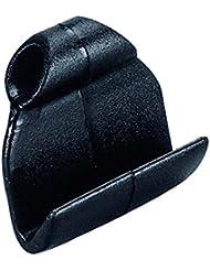 Petit crochet pour taud, 40x40mm, pour sandow max. Ø8mm , gris