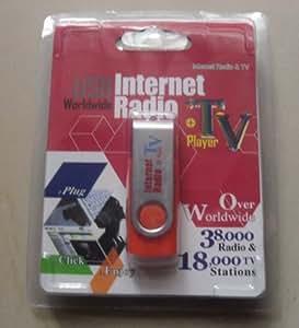 WORLDWIDE USB INTERNET RADIO et TV PLAYER, UDB DONGLE - Internet TV et Radio USB DONGLE dans le monde entier