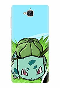 Noise Designer Printed Case / Cover for Huawei Honor Holly 2 Plus / Animated Cartoons / Bulbasaur Design