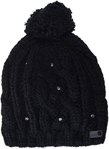 Roxy Shooting Star Bonnet Femme Noir (True Black KVJ0) Taille Unique (Taille Fabricant: 1SZ)