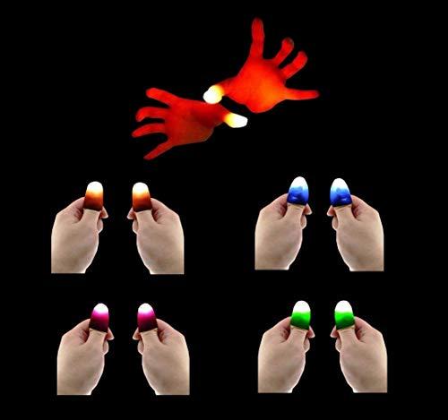 agischer Finger LED Daumen leuchtet im Dunkeln Zaubertrick Geschenk Magier Zauberer Street Magic Show Party Gadget ()