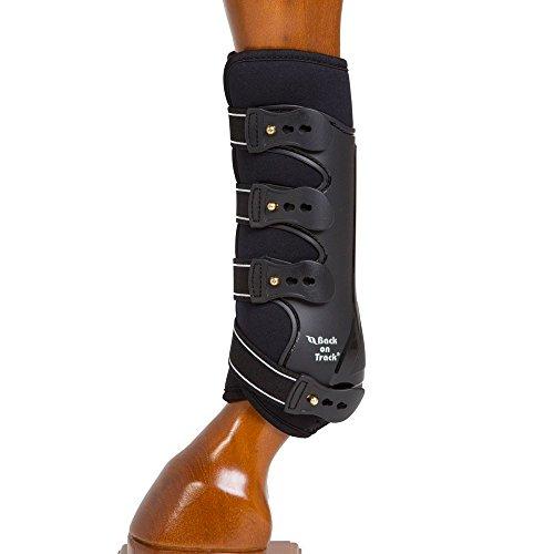 Back on Track Royal Work Hind Boots - schwarz, Größe:L