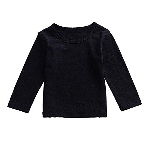 ESHOO Kleinkind Baby Mädchen Langarm T-shirts Tops T-Shirt (Kleider Für Kleinkinder Unter $20)