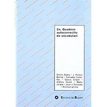 2n Quadern autocorrectiu de vocabulari (Quaderns autocorrectius)