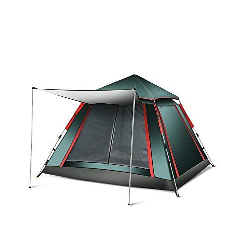 Pyramide Zelt Automatisches Zelt im Freien 3-4 Personen Zwei Zimmer EIN Zimmer Regensicher Family Double Camping Wild Camping Foyer Upgrade Zelt Camping und Wandern