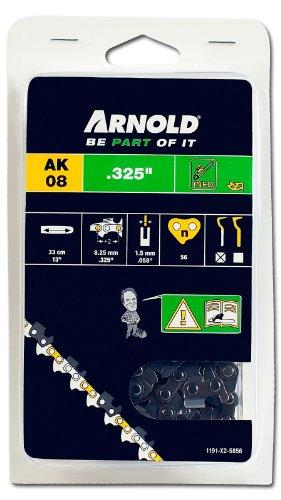 Arnold 1191-X2-5856 Sägekette .325 Zoll, 1.5 mm, 56 Treibglieder, 33 cm Schwert