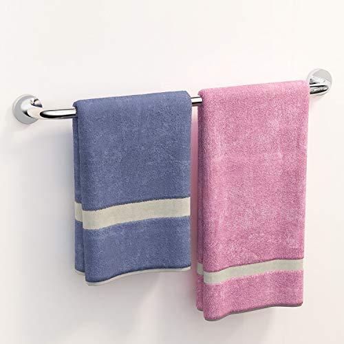 Derpras Handtuchhalter Edelstahl Gebürstet 60CM Handtuchstange Wandmontage Badaccessoires Badetuchhalter für Badzimmer und Küche
