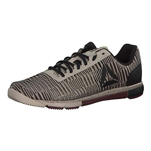 Reebok Herren Speed Tr Flexweave Multisport Indoor Schuhe, Mehrfarbig (Light Sand/Mineral Dust/Black 000), 44 EU Light Herren Schuhe