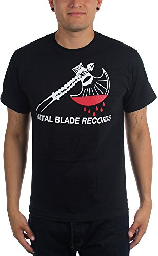 Metal Blade Records - Top - Uomo Black Large