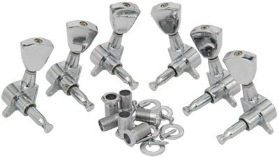 Lot de 3-a-side Tuners – Chrome