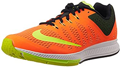 Nike Men's Air Zoom Elite 7 Hyper Crimson,Volt,Black  Running Shoes -8 UK/India (42.5 EU)(9 US)