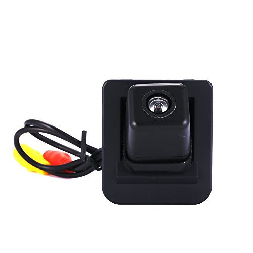 HDMEU Auto Rückfahrkamera 170 Grad Weitwinkelobjektiv IP68 wasserdichte stark Nachtsicht, für Rückfahrhilfe&Einparkhilfe ideal universal für Mercedes S E C Klasse S400 X204 W204 W212 W221 W216