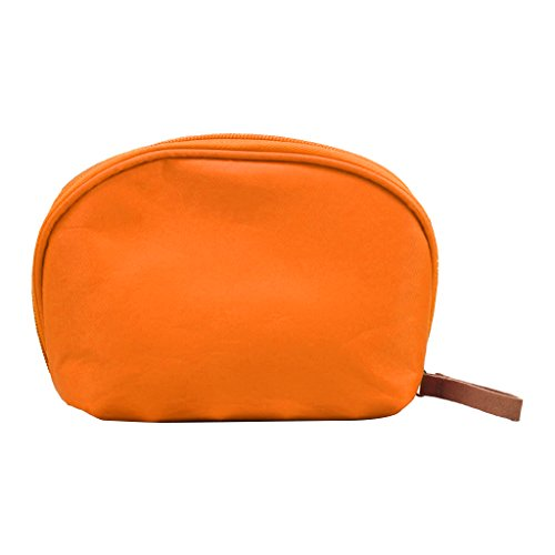JAGENIE Beauty Travel Kosmetiktasche Frauen Multifunktions Make-Up Beutel Toiletry Nylon Fall Orange