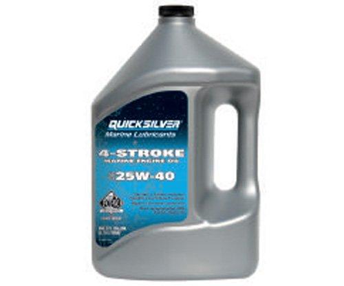 Quicksilver 4-Takt Motoröl 25W-40 4 Liter mineralisch