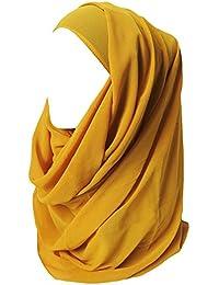 Lina   Lily Hijab pour Femmes Mousseline Foulard Écharpe Turban Châle  Islamique 3cad6571f0f