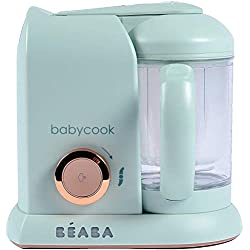BÉABA Babycook Solo, Robot Bébé 4 en 1 Mixeur-Cuiseur, Matcha