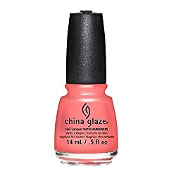 China glaze Nail Lacquer - About Layin' Out (Sunkissed Crème), 14 ml