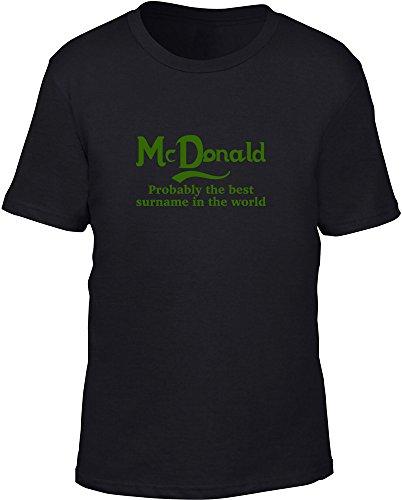 mcdonald-probabilmente-il-migliore-cognome-nel-mondo-bambini-t-shirt-black-12-14-anni
