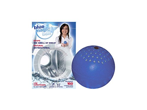 Bluemagicball Laundry Ball with Silver