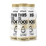 YFood Kaffee | Laktose- und glutenfreier Nahrungsersatz | 33g Protein, 26 Vitamine und Mineralstoffe | Leckere Astronautennahrung - 25% des Kalorienbedarfs | Trinkmahlzeit, 12 x 500 ml (1 kcal/ml)