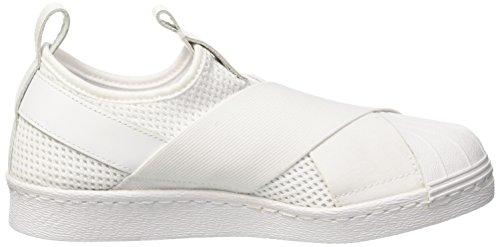 adidas Superstar Slipon W, Scarpe da Basket Donna Bianco (Ftwwht/Ftwwht/Cblack)