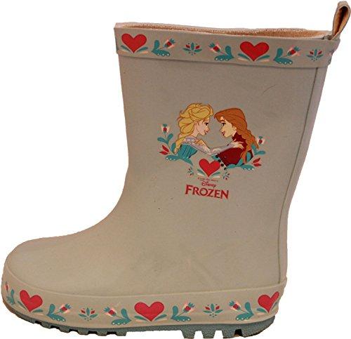 Disney Girls Frozen Princess Wellies Wellington Boots Snow Rain Rubber Elsa Anna Blue