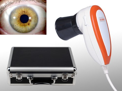 5.0m Pixel USB links/rechts Lampe iriscope, iridologie Kamera mit Pro Software