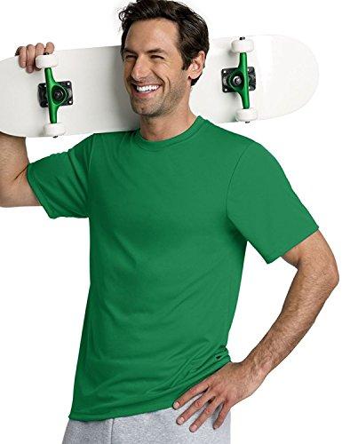 Hanes Cool Dri Tagless Men's T-Shirt_Kelly Green_X-Small (Wick Cool-dri)