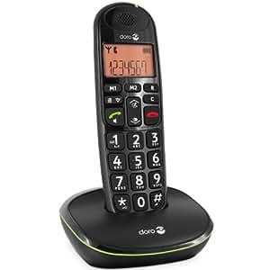 Doro Phone Easy 100W téléphone fixe sans-fil Noir