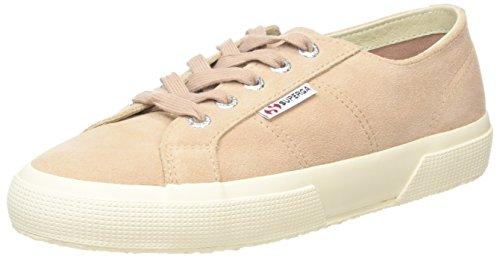 SUPERGA Women's 2750-sueu Tennis Shoes - Pink (Nude), 6 UK