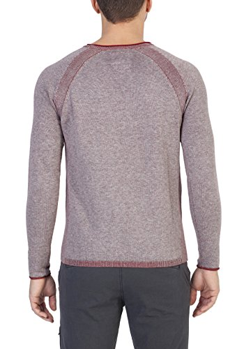Timezone Herren Pullover Grau (Feather Grey Melange 8002)