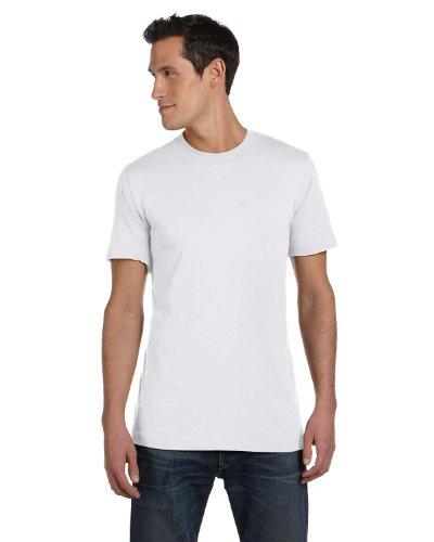 Soft Yoke (Bella+Canvas Womens Super Soft Athletic Yoke T-Shirt 3001C -SOLID WHT BL 4XL)