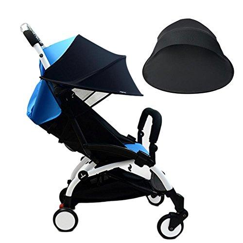 Cochecito de bebé toldo bebé universal anti-UV a prueba de viento lluvia anti-mosquito carretilla cubierta protectora solar accesorios para niños mejor protección cuando con el bebé fuera