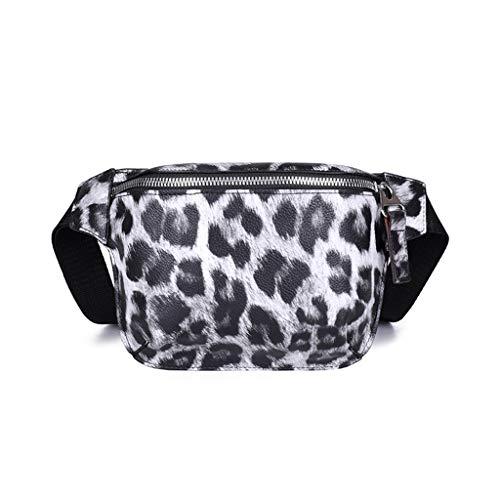 Yuan_dress Yuan  Damen-Umhängetasche aus Leopard Narbenleder mit hochwertiger Mode Damen Lederimitat Umhängetasche Designer Taschen Taschen groß Mit Quasten Kleine Größe -