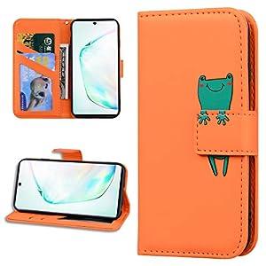 Miagon Tier Flip Hülle für Samsung Galaxy S10,Brieftasche PU Leder TPU Cover Design mit Ständer Kartenfächer…