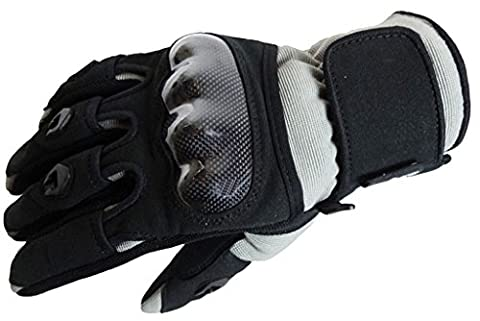 Bangla 5000 Motorradhandschuh Motorrad Handschuhe Sommer Schwarz-Grau XL