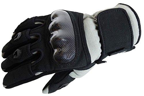 Bangla 5000 Motorradhandschuh Motorrad Handschuhe Sommer Schwarz Grau XXXL
