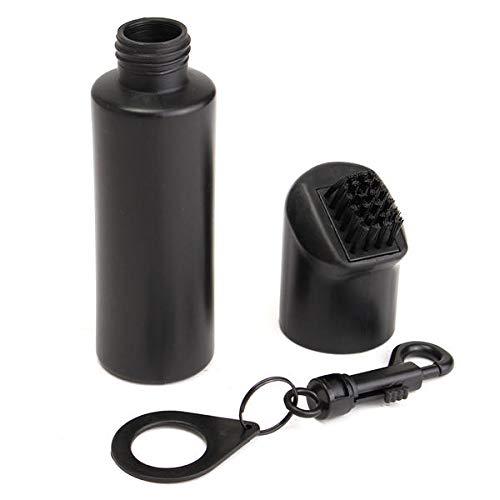 OKIl Golf Club Scrub Wet Cleaning Brush Washer Nachfüllbare Wasserflasche mit Taschenclip -